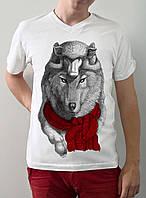 """Мужская футболка """"Волк в овечьей шкуре"""""""