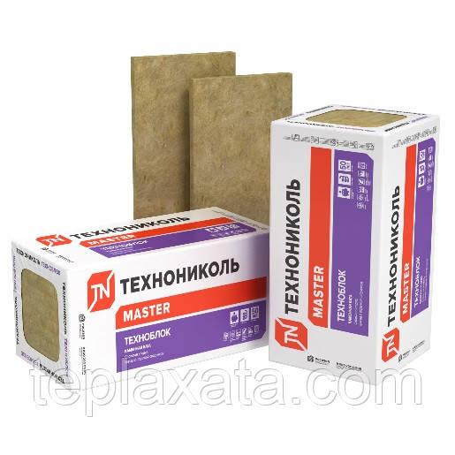 Утеплитель ТЕХНОНИКОЛЬ Техноблок стандарт (45 кг/м3) 100 мм