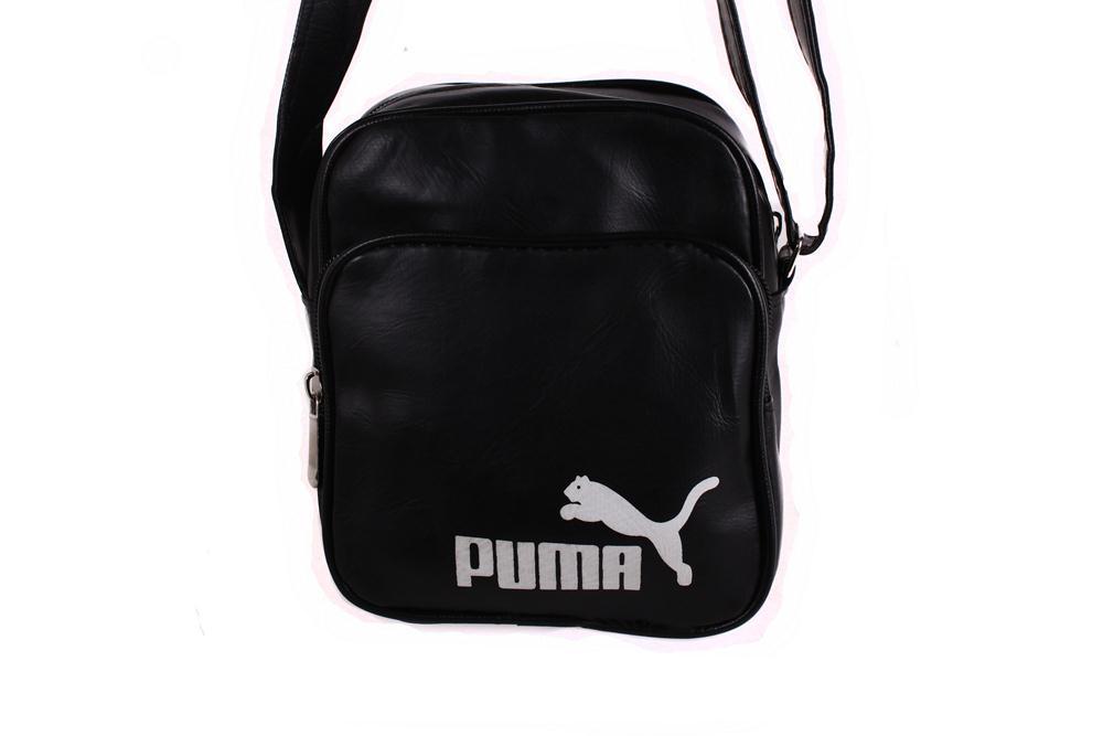 Спортивная сумка PUMA через плечо черная