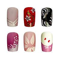 Накладные ногти Knail №A002-9 цветные