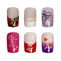 Накладные ногти Knail №A002-10 цветные