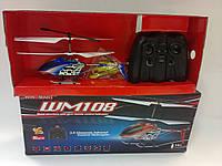 Р/К Гелікоптер WM108 3.5 CH, 23x4x4 cm, USB зарядка, зарядка 20-25 хв., політ 6-10 хв., відстань 15