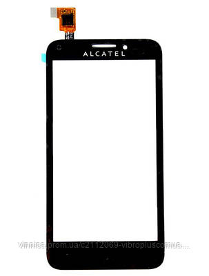 Тачскрин (сенсор) Alcatel 5030 One Touch X Pop, black (чёрный), фото 2