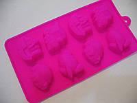 Форма силикон для конфет Детский транспорт