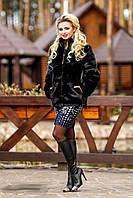 Красивый женский полушубок , размеры 46, 50