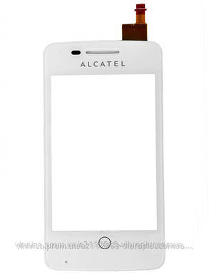Тачскрин (сенсор) Alcatel 4012 One Touch Fire, 4012A, 4012X, white (белый), фото 2