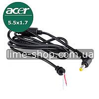 Кабеля для ноутбука ACER 5.5x1.7 шнур для блока питания зарядного устройства 5.5*1.7, фото 1