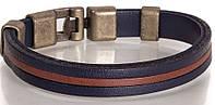 Элегантныйкожаный браслетDERIBILEKLIK(ДЕРИБИЛЕКЛИК) SH60205-18-3, синий