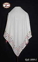 Женский шерстяной платок Цветочек, фото 3