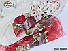 Женский шерстяной платок Цветочек, фото 4