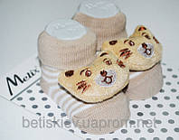 Носочки с игрушкой Хлопок р.0-6 мес.
