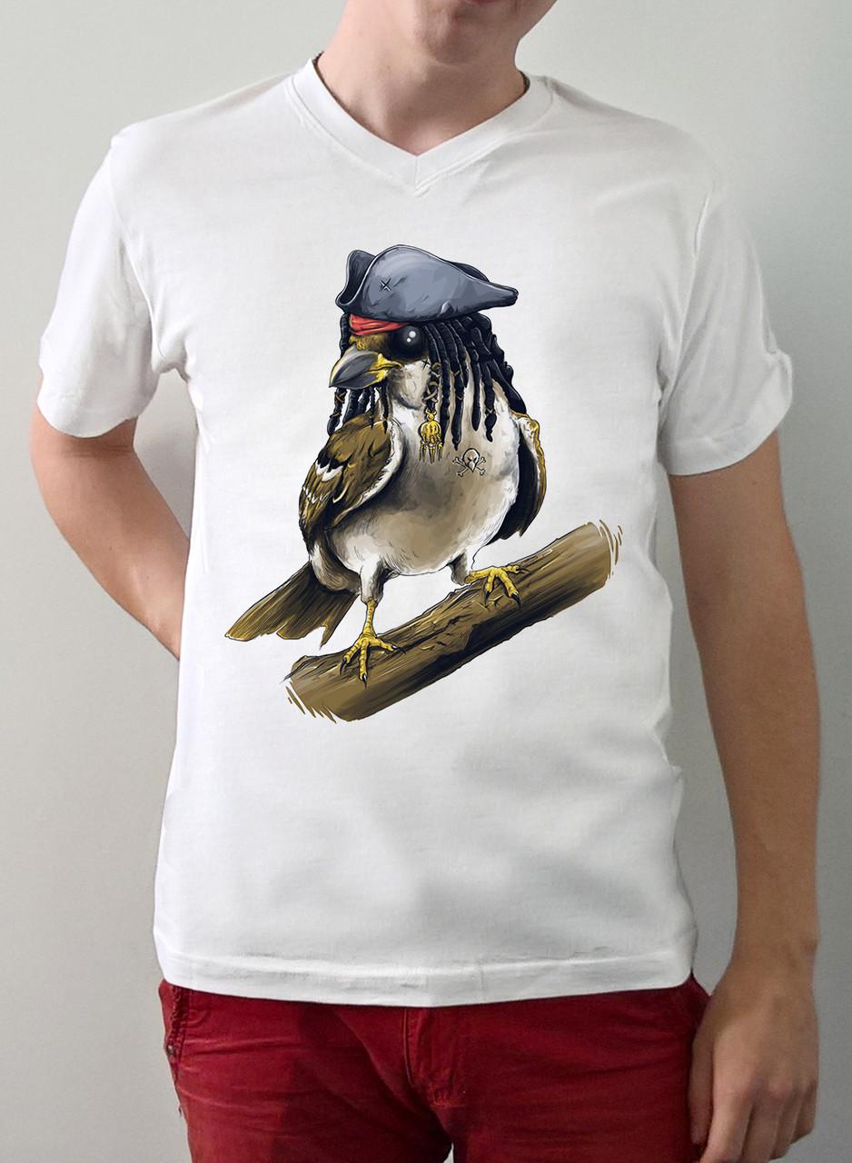 """Чоловіча футболка """"Джек горобець"""""""
