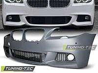 Передний бампер BMW F10 2010- 2013 М-пакет