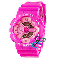 Часы спортивные женские G-Shok розовые