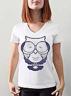 """Женская футболка """"Сова"""""""
