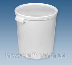 Ведро пластиковое с крышкой/ Бродилная емость / ферментер, 33 Л