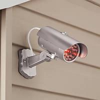 Видеокамера муляж Mock Security Camera с датчиком движения!