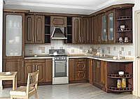 Кухня под заказ вариант-009 классика угловая  3100*1900 мм
