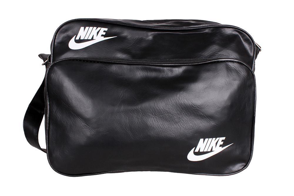 Спортивная сумка Nike через плечо формат а4 черная