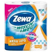 Бумажные полотенца Zewa Wisch&Weg Extra Lang Original 2-слойные 2 шт (7322540833300)