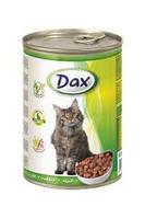 Консервы Dax® (Дакс, Венгрия) для котов с кроликом, 415г.