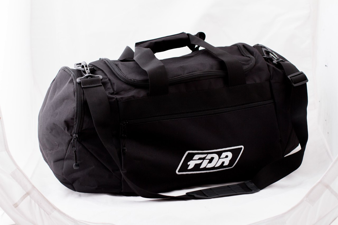 Сумка спортивная FDR, черная, фото 1