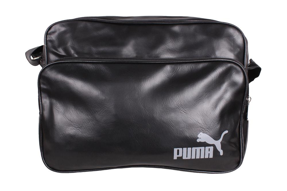 Спортивная сумка PUMA через плечо формат а4 черная