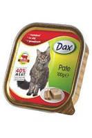 Паштет Dax® (Дакс, Венгрия) для котов с говядиной 40%, 100г.