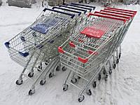 Покупательские тележки, торговые тележки, тележки для супермаркетов, фото 1