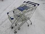 Покупательские тележки, торговые тележки, тележки для супермаркетов, фото 5