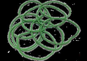 Резинки для денег 1кг зеленые 25мм