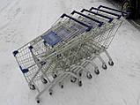 Покупательские тележки, торговые тележки, тележки для супермаркетов, фото 4