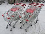 Покупательские тележки, торговые тележки, тележки для супермаркетов, фото 3