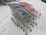 Покупательские тележки, торговые тележки, тележки для супермаркетов, фото 7