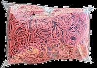 Резинки для денег 1кг красные 40мм