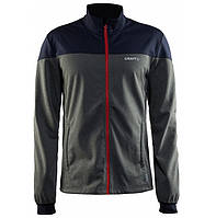 Softshell куртка CRAFT Voyage Jacket M 2975 DGM/Gravel/Drama XL