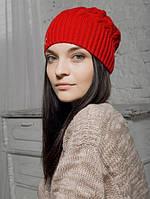 Шапка женская Каллисто красная 010-red