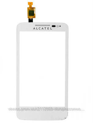 Тачскрин (сенсор) Alcatel 5020, 5020D One Touch M'Pop, white (белый), фото 2