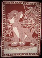 Одеяло шерстяное детское 100\140