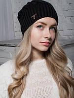 Шапка женская Каллисто черная 010-blk