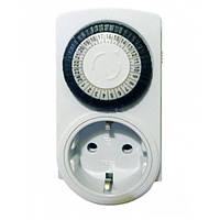 Розетка-таймер механическая суточная 3680w 16A