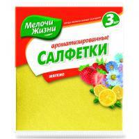 Серветки для прибирання Мелочи Жизни универсальные ароматизированные 3 шт (2089 CDMIX)