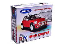 Welly. Сборная модель машина металл 1:24 Mini Cooper /6/