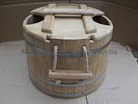 Запарник для веников 30 литров дубовый