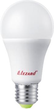Лампа светодиод. LED GLOB LEZARD A60 9W 4200K E27 220V 442-A60-2709