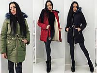 "Женское пальто ""Зима""  НОРМА"