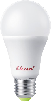 Лампа светодиод. LED GLOB LEZARD A60 13W 4200K E27 220V 442-A60-2713
