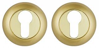 Декоративная накладка под цилиндр Punto - ET TL SG/GP 4 (матовое золото-золото)