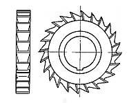 Фреза дисковая трёхсторонняя Ø 80х12 Р6М5