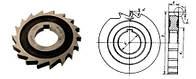 Фреза дисковая пазовая Ø105х17 Р6М5